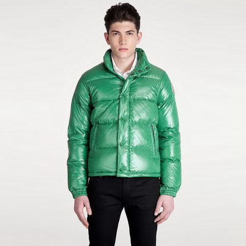 Cheap Moncler Down Jackets For Men Green MC1321 Sale